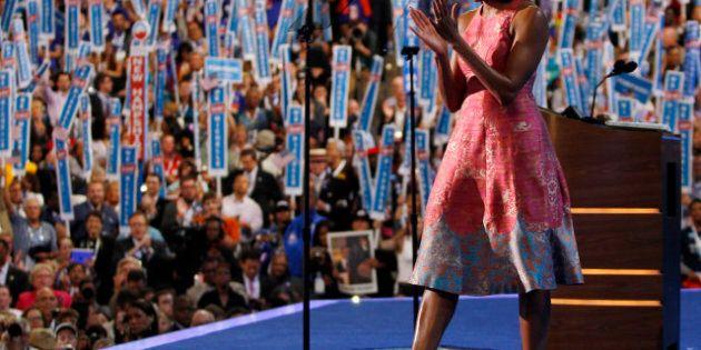 Michelle Obama : les commentateurs se pâment devant elle à la convention