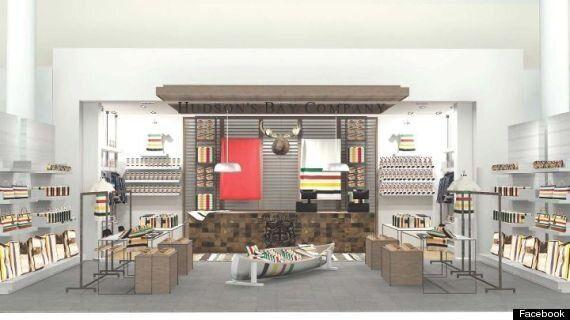 La Baie d'Hudson à Pearson: l'aéroport international de Toronto accueillira sa première boutique en