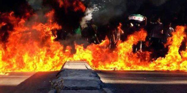 Des quartiers de Damas mitraillés par les hélicoptères, tirs dans le