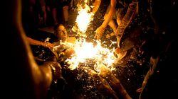 Un manifestant tente de s'immoler à