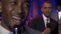 «Obama Boy» déclare son amour au président