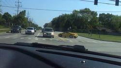 À bord d'une Lamborghini, faut pas tenter d'en faire trop..