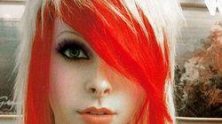 La frange et la coupe de cheveux emo: de graves risques pour les