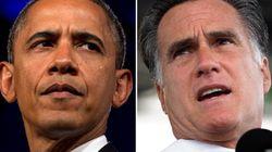 Obama et Romney à