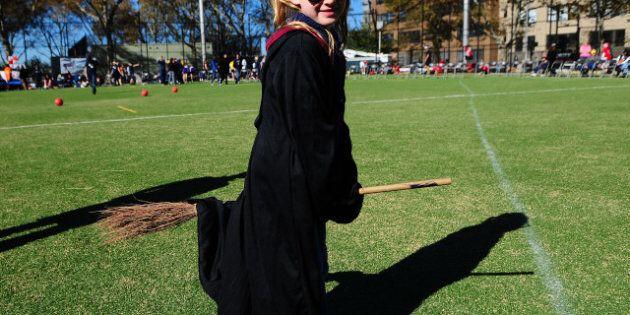 Le Quidditch, le sport de Harry Potter, a son championnat du monde
