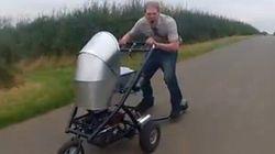 La poussette la plus rapide du monde