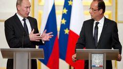 Syrie: entente glaciale entre Hollande et Poutine