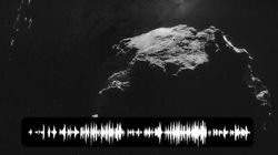 Écoutez la mystérieuse «chanson» de la comète «Tchouri» captée par