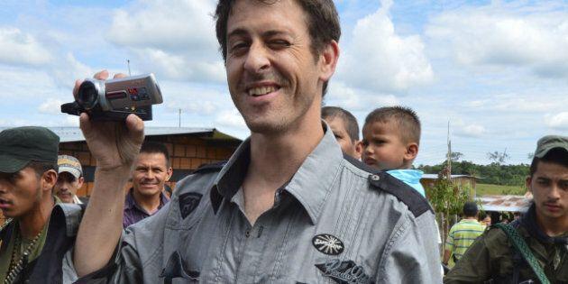 Roméo Langlois, le journaliste français, a été libéré par les Farc