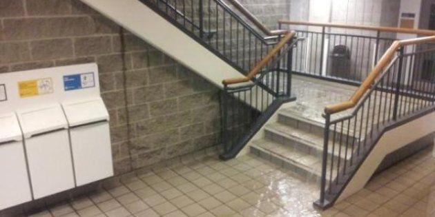 Inondations : fermeture de plusieurs pavillons de