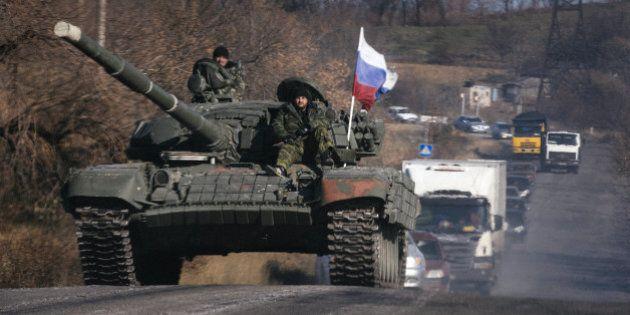 Ukraine: intenses combats entre armée et rebelles pro-russes dans l'est, la trêve plus que jamais