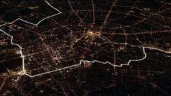 8000 ballons illuminés pour célébrer la chute du mur de Berlin