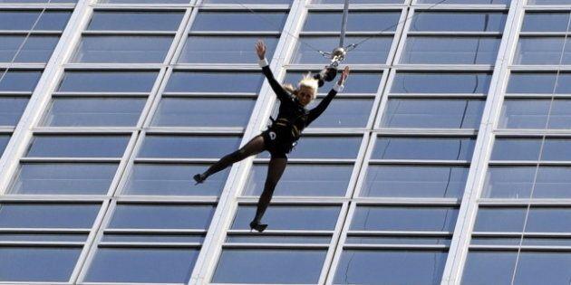 Sports extrêmes: le «base jump», ça