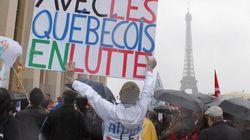 Manifestation en soutien aux étudiants