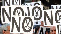 Une marée humaine à Madrid pour dire «non» à la rigueur