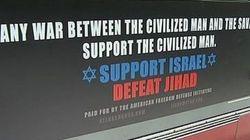 Les affiches controversées d'un groupe anti-islam