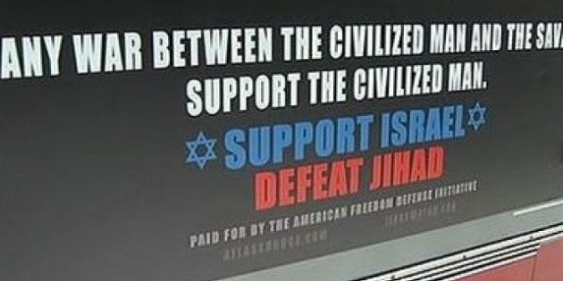 Aux États-Unis, une campagne d'affiches controversées d'un groupe anti-islam