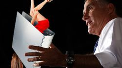 Les «classeurs de femmes» de Romney font rire...