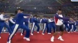 Novak Djokovic danse le Gangnam Style