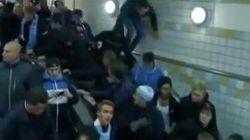 Le moyen le plus rapide d'évacuer des fan sportifs dans le métro