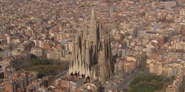 Ce à quoi ressemblera la Sagrada Familia à la fin des travaux en 2026