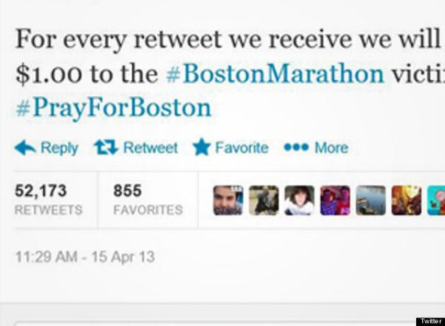 Marathon de Boston : comment certains internautes surfent sur les attentats pour s'enrichir et gagner...