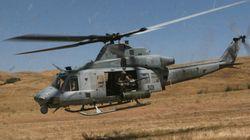 Collision de deux hélicoptères: sept