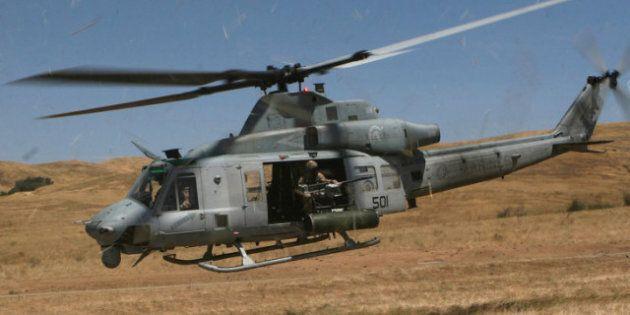 USA: une collision entre deux hélicoptères militaires fait sept