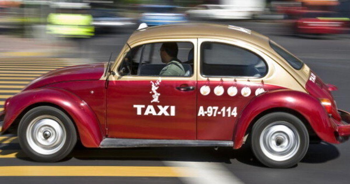 Mexico: Les Taxis «coccinelles» De Volkswagen Sont Arrivés