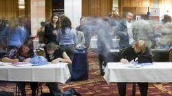 Embauches massives, chômage