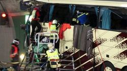 Accident d'autobus: 28 morts, dont 22 enfants