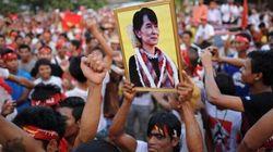 Élections en Birmanie: Aung San Suu Kyi en route vers