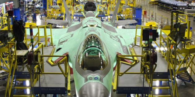 Visite de l'usine de production des F-35 à Fort Worth, au