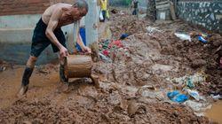 Inondations en Chine: 77 morts à