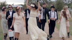 Un mariage comme un festival de rock