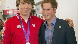 Le prince Harry a rendu visite aux olympiens canadiens à