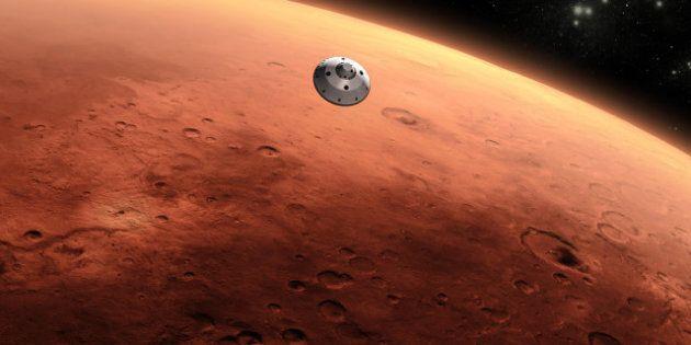 Le robot-sonde de la Nasa Curiosity s'est posé sur Mars (VIDÉOS.