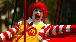 Ronald McDonald perd de