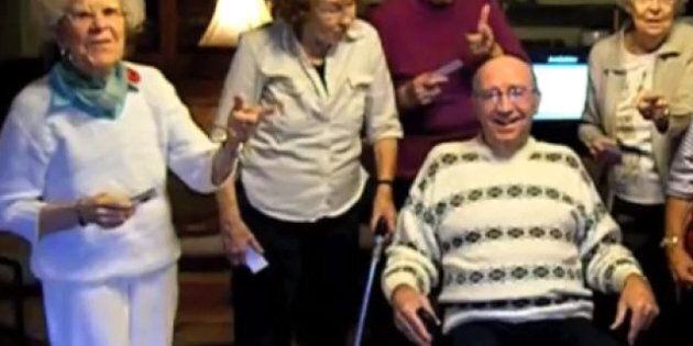 Un lipdub de Call Me Maybe par des personnes âgées de Waverley