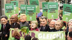 Au moins 10 000 manifestants anti-G20 à