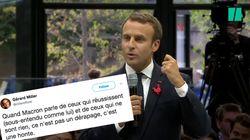«Les gens qui réussissent et les gens qui ne sont rien», la phrase de Macron qui fait