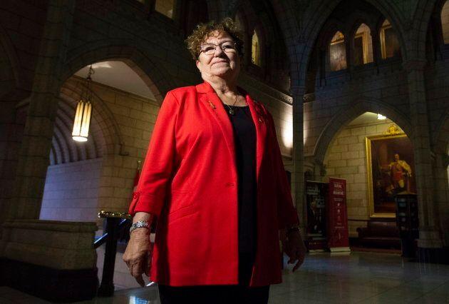 La sénatrice ontarienne Yvonne Boyer est une avocate métisse et une ancienne