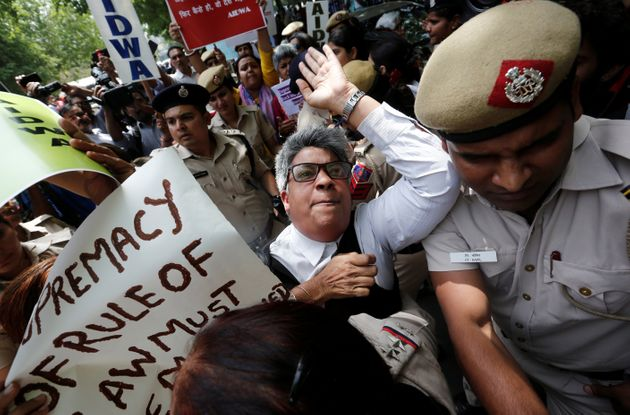 Protests after a panel of judges dismissed the sexual harassment complaint against Chief Justice of India...