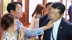 자유한국당 한선교 의원이 직원 폭언을 인정하고