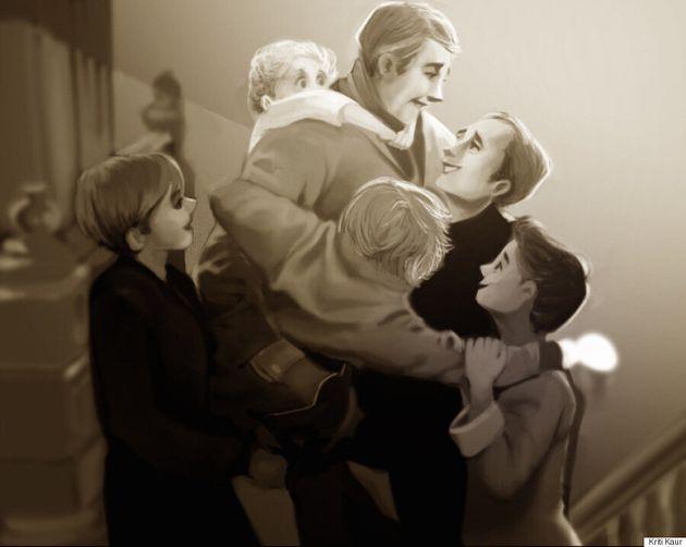 Cinéma LGBT: Cet artiste revisite 8 scènes emblématiques avec des couples homosexuels