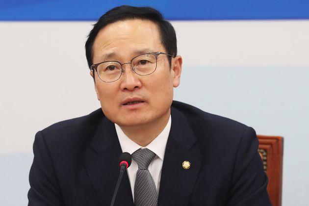 8일 임기 끝나는 홍영표 민주당 원내대표가 밝힌