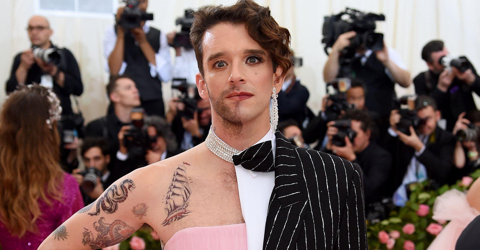 16e1b52b20f5 Michael Urie's 2019 Met Gala Look Was A Gender-Bending Sensation | HuffPost  Life