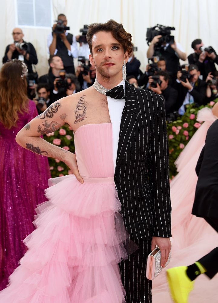 Michael Urie's 2019 Met Gala Look Was A Gender-Bending Sensation ...
