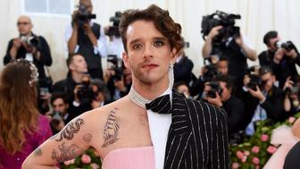 NEW YORK, NEW YORK - MAY 06: Michael Urie attends The 2019 Met Gala Celebrating Camp: Notes on Fashion at Metropolitan Museum of Art on May 06, 2019 in New York City. (Photo by Jamie McCarthy/Getty Images)