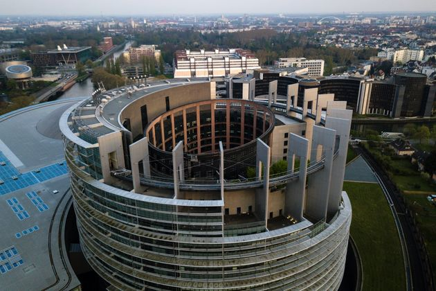 The European Parliament building in